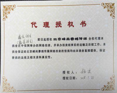 杨波授权书