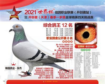 2021年天津开创综合12名职业鸽舍8名