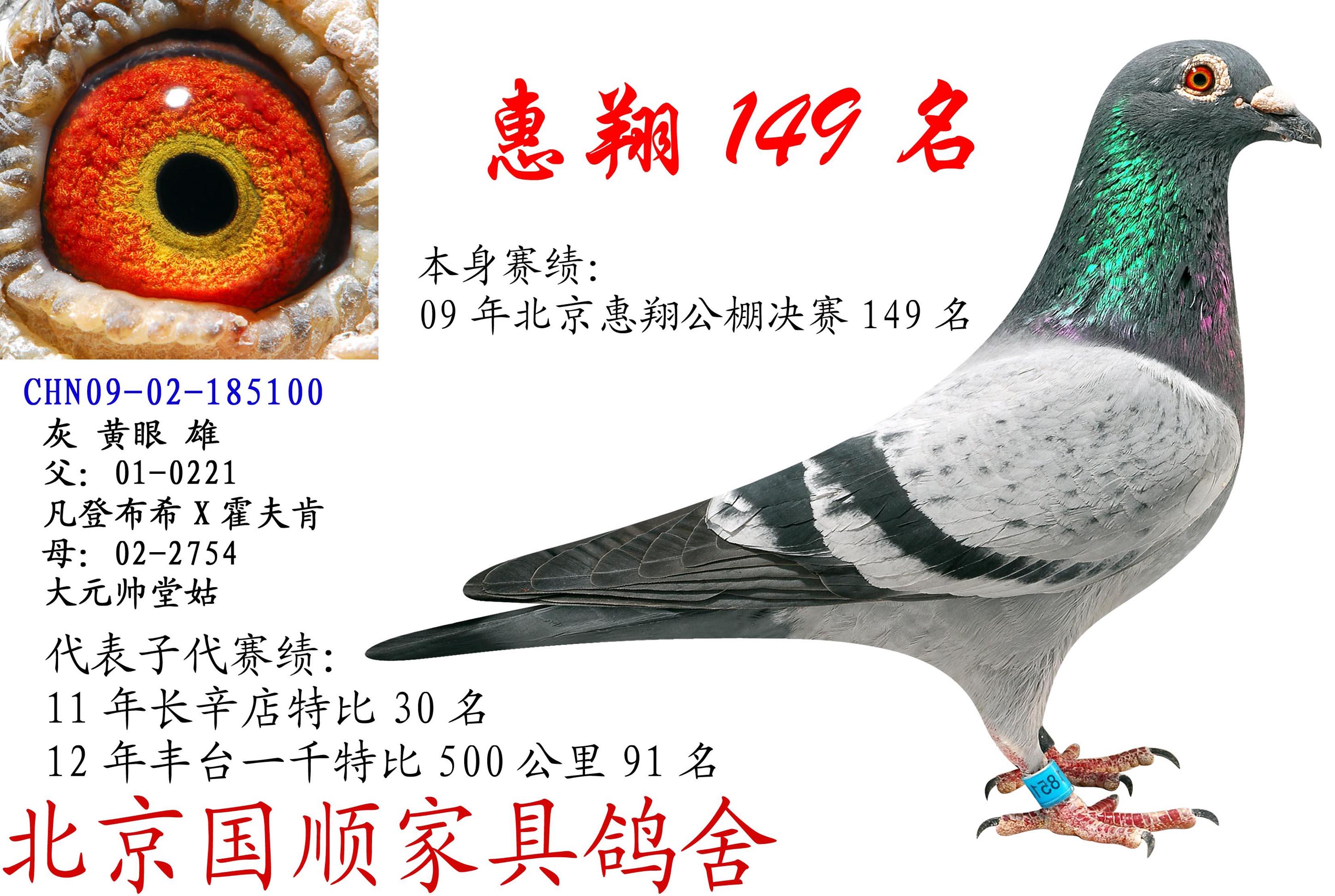 惠翔149名
