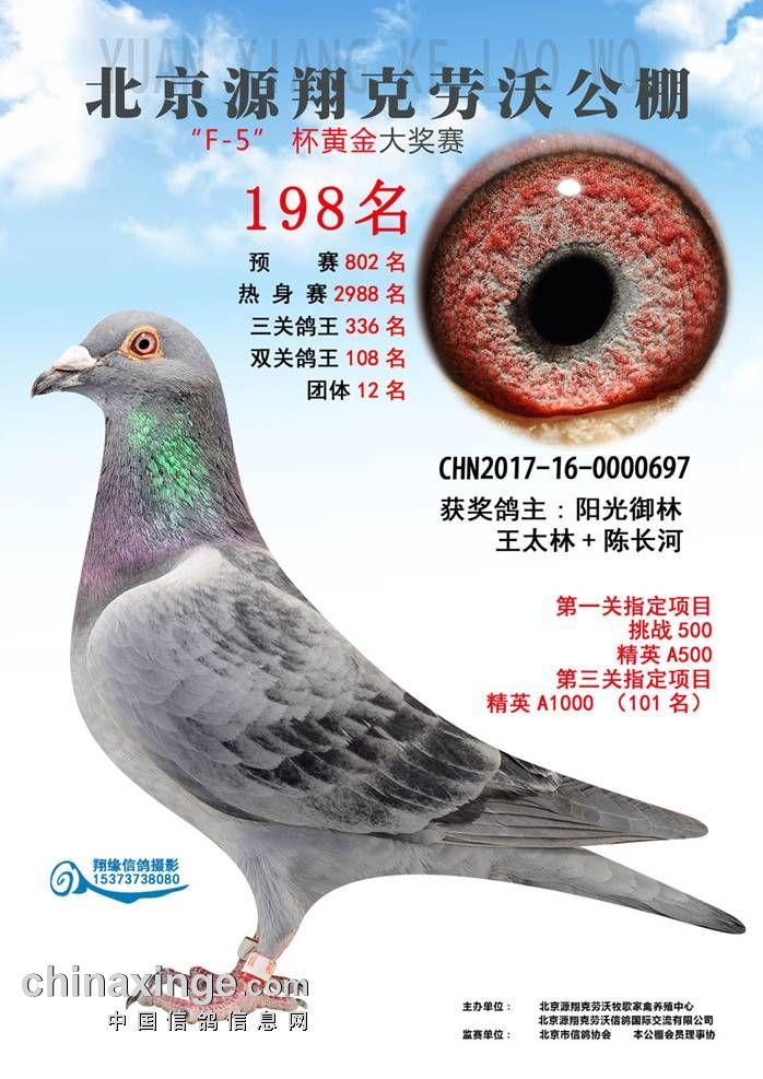 17年北京克劳沃F-5杯黄金大奖赛198