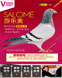 第001号种鸽 ― 莎乐美