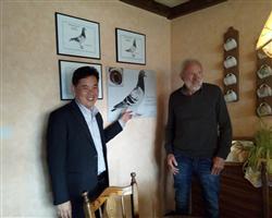 刘总拜访里奥赫尔曼斯先生