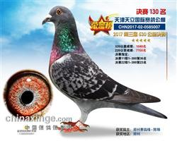 2017年天津天立公棚决赛130名