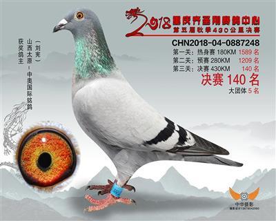 18年重庆齐胜翔公棚秋季决赛140名