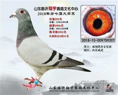 山东翔宇公棚决赛 292 名(已转让)