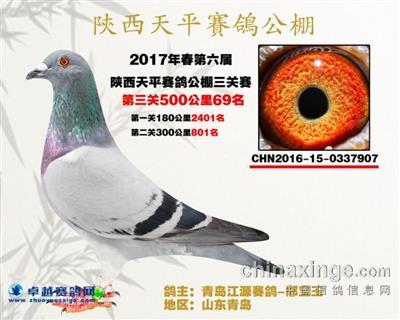 2017年陕西天平公棚春季决赛69名