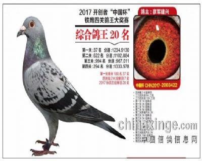 2017年北京开创者综合20名