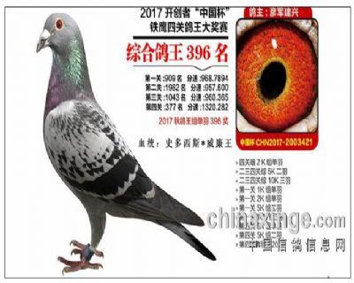 2017年北京开创者综合396名