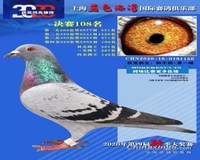 上海蓝色海湾决赛108名