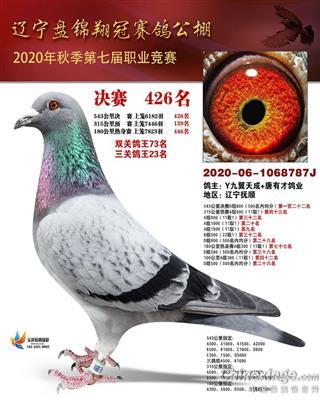 20年辽宁翔冠决赛426