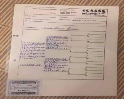 凡龙原舍血统证书